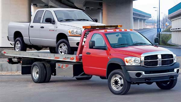 city-tow-truck-flatbed-towing
