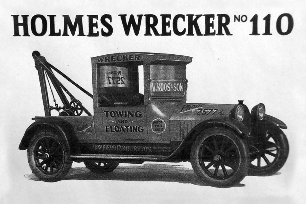 tow truck history