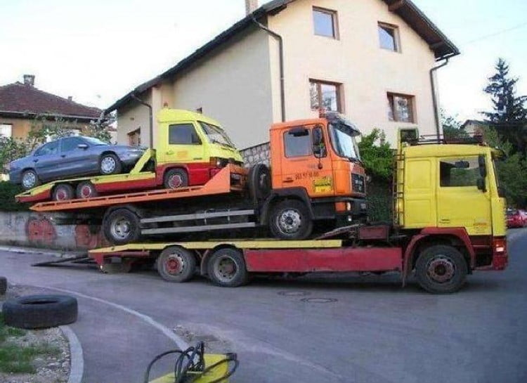 tow truck inception